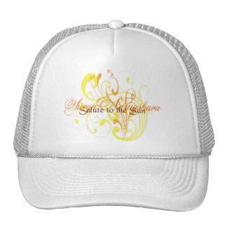 Suryasta Sun Salute Abstract Art Trucker Hat