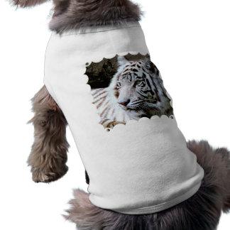 Sus camisetas sin mangas acanaladas del perrito de playera sin mangas para perro