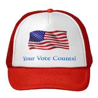 Sus cuentas del voto - productos múltiples gorro