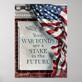 Sus enlaces de guerra son una participación en el póster
