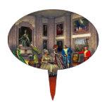 Sus fotos en una galería de arte histórica decoración para tarta