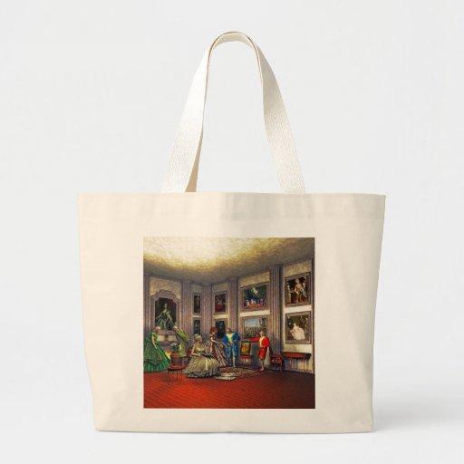 Sus fotos en una galería de arte histórica bolsas de mano
