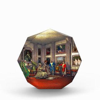 Sus fotos en una galería de arte histórica