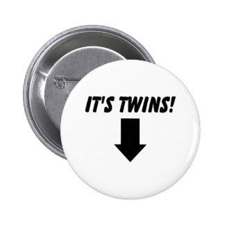 Sus gemelos pin
