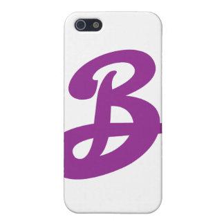 Sus iniciales en este fresco iPhone 5 fundas