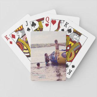 Sus naipes de encargo del póker