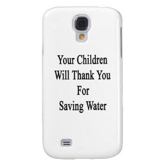 Sus niños le agradecerán por agua de ahorro funda para galaxy s4