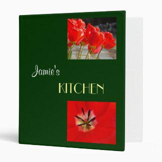 Sus tulipanes conocidos del personalizado de la ca