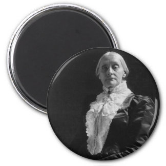 Susan B. Anthony 2 Inch Round Magnet