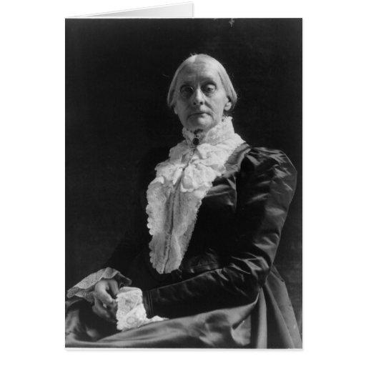 Susan B. Anthony Card