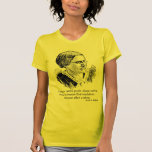 Susan B. Anthony - efectúe una reforma - camiseta