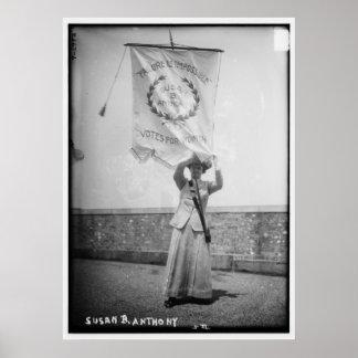 Susan B Anthony Failure es imposible Poster
