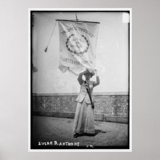Susan B. Anthony Failure es imposible Poster