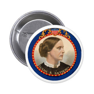 Susan B. Anthony Pinback Button