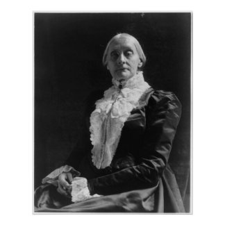 Susan B Anthony Poster