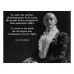 Susan B. Anthony Quote Poster