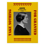 Susan B Anthony reminds us Print