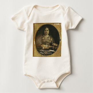 Susan B Anthony Wisdom Quote Gifts & Cards Baby Bodysuit