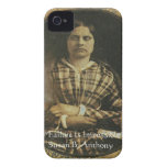 Susan B Anthony Wisdom Quote Gifts & Cards Case-Mate iPhone 4 Case