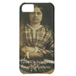 Susan B Anthony Wisdom Quote Gifts & Cards Case For iPhone 5C