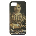 Susan B Anthony Wisdom Quote Gifts & Cards iPhone 5 Covers