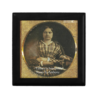 Susan B Anthony Wisdom Quote Gifts & Cards Gift Box