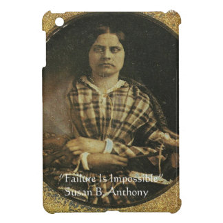 Susan B Anthony Wisdom Quote Gifts & Cards iPad Mini Cover