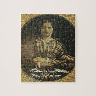 Susan B Anthony Wisdom Quote Gifts & Cards Jigsaw Puzzle