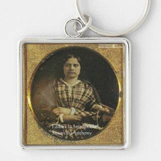 Susan B Anthony Wisdom Quote Gifts & Cards Keychain