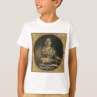 Susan B Anthony Wisdom Quote Gifts & Cards T-Shirt