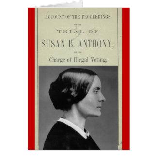 Susan B Trial Card