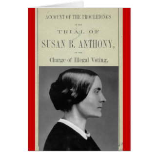 Susan B Trial Stationery Note Card