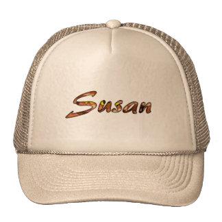 Susan brown mesh cap for ladies
