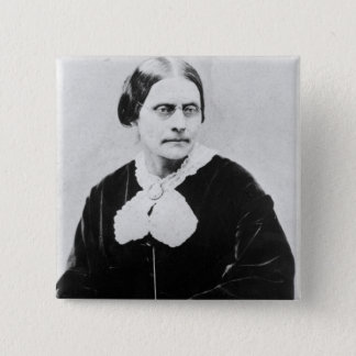 Susan Brownell Anthony  c.1871 Button