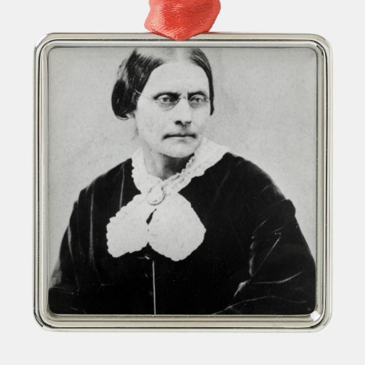 Susan Brownell Anthony  c.1871 Christmas Ornament