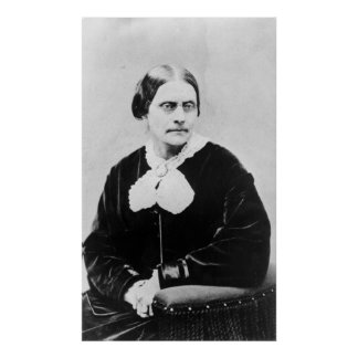 Susan Brownell Anthony c.1871 Póster