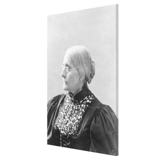 Susan Brownell Anthony c.1890-1906 Impresiones En Lienzo Estiradas