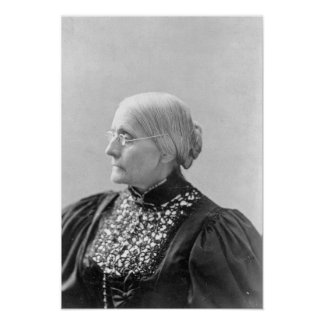 Susan Brownell Anthony c.1890-1906 Póster