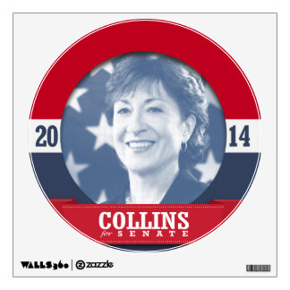 SUSAN COLLINS CAMPAIGN WALL STICKER