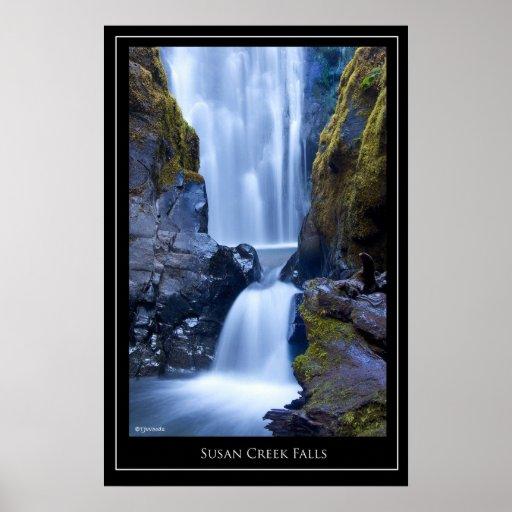 Susan Creek Falls Poster