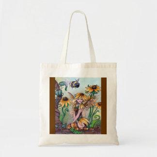 """Susan"" fairy fantasy bumblebee TOTE BAG ronne"