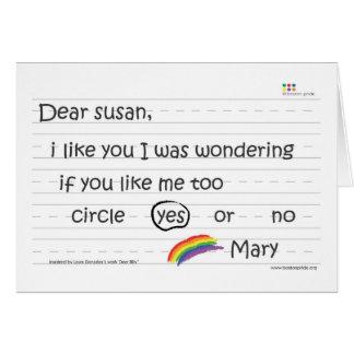 Susan Greeting Card