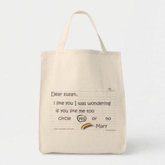 Susan Grocery Tote Bags
