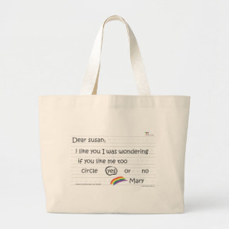 Susan Jumbo Tote Bag