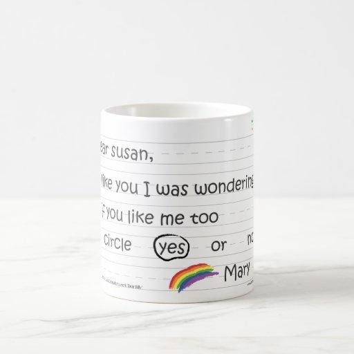 Susan Morphing 11 Oz Magic Heat Color-Changing Coffee Mug