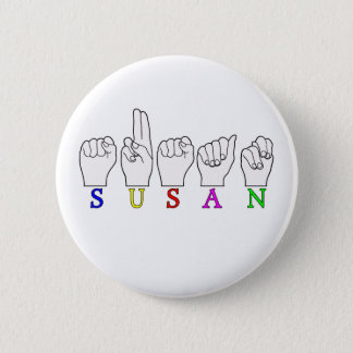 SUSAN NAME ASL FINGERSPELLED SIGN BUTTON