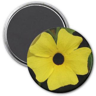Susan observada negro imán redondo 7 cm