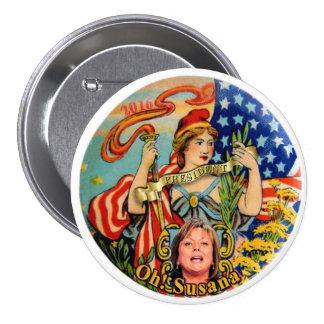 Susana Martinez for President 2016 Pinback Button