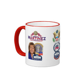 Susana Martínez para presidente Mug Taza