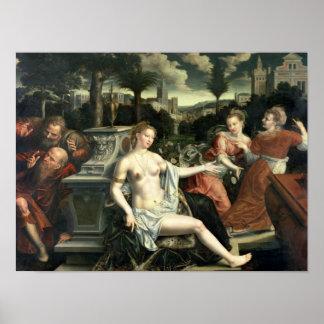Susana y las ancianos 1567 posters